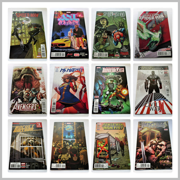 PACK OF 12 MARVEL COMICS