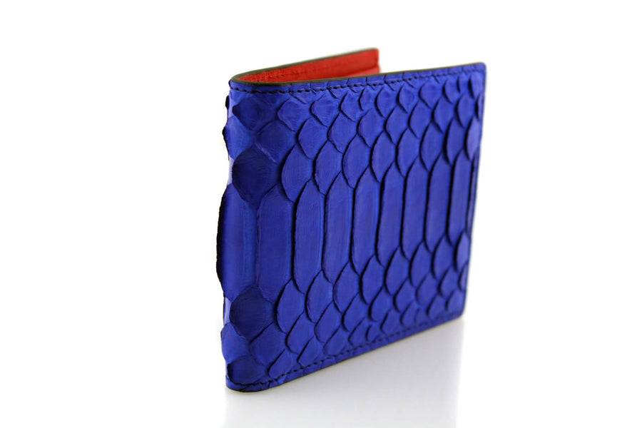 Royal Blue Python Wallet