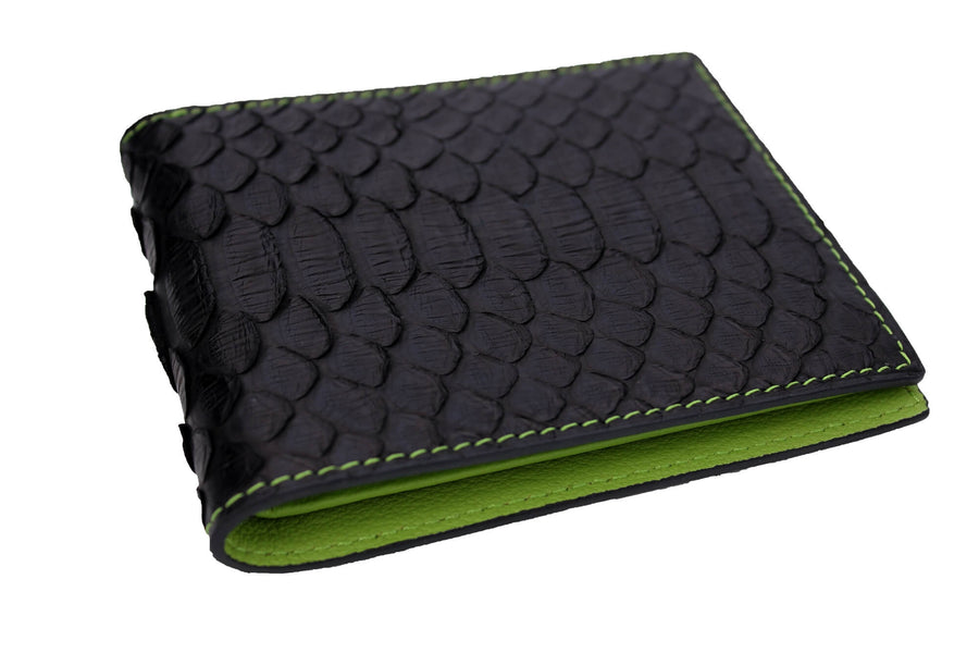 Green Accented Python Wallet