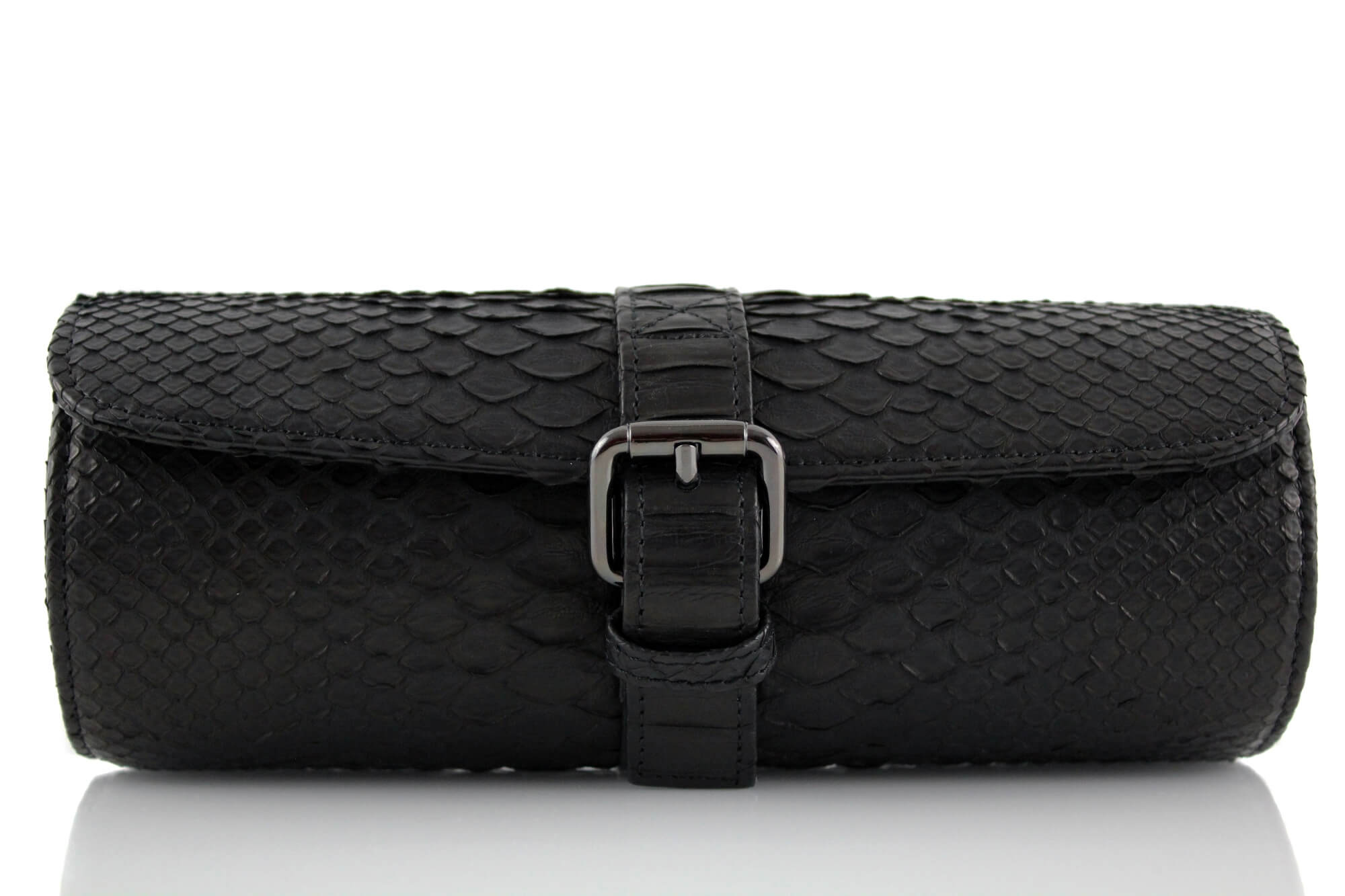 Black Python Watch Roll