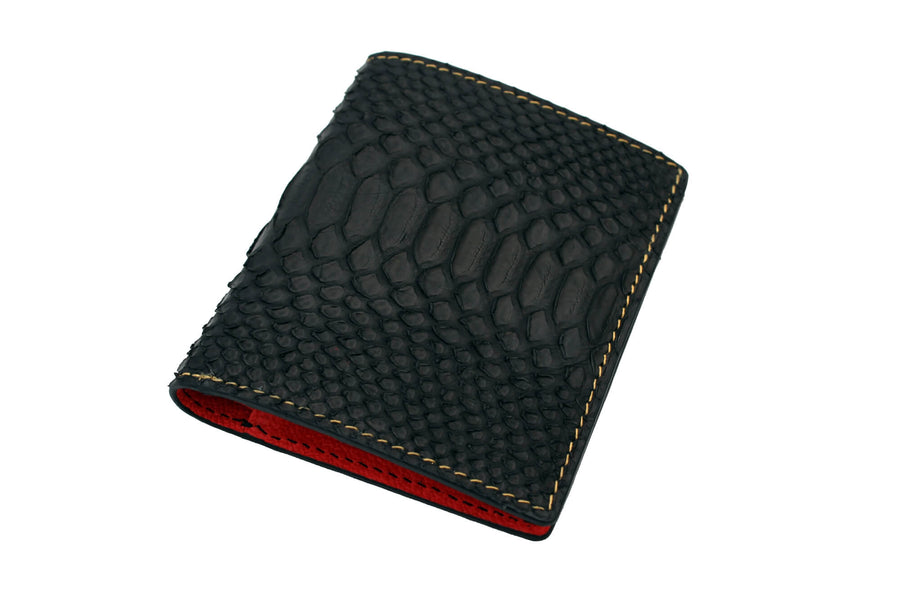 Gold Stitched Python Wallet