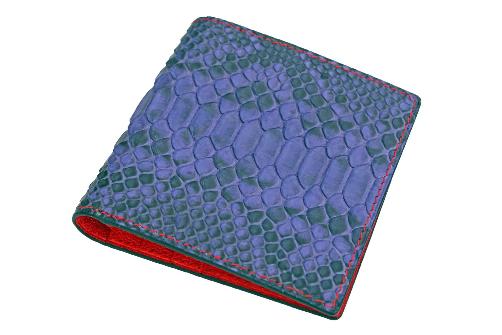 Natural Purple Python Wallet