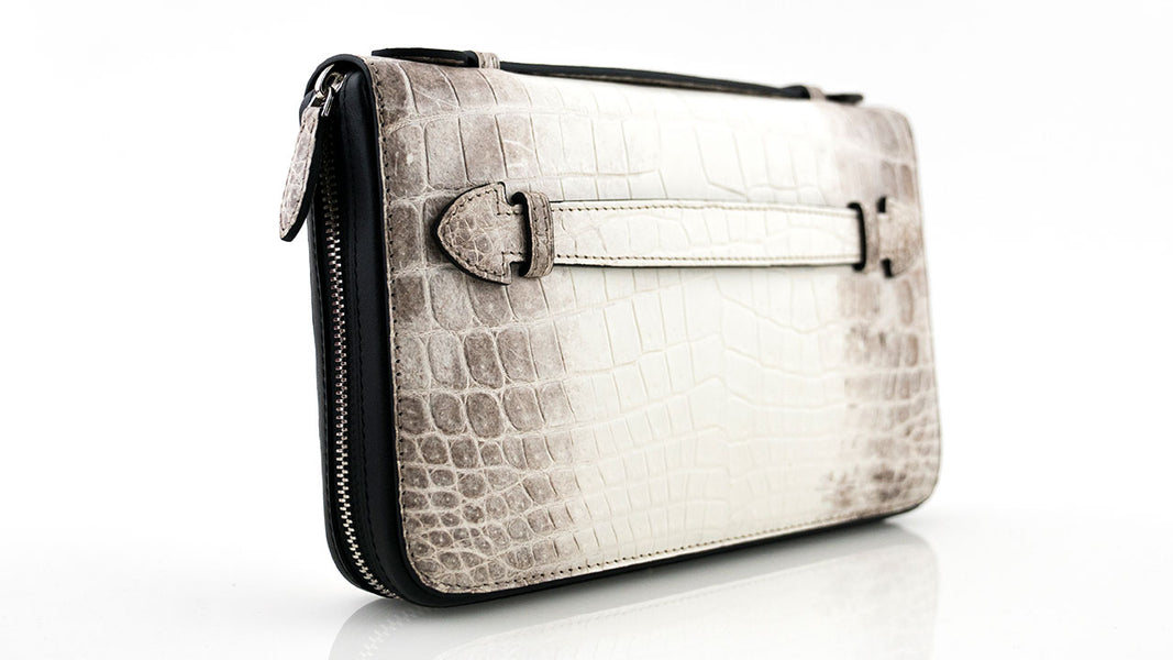 Himalayan Crocodile Skin Travel Case