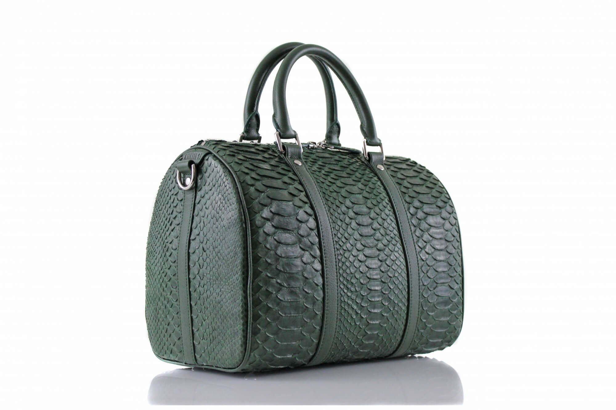 Ladies Green Mini-Duffle