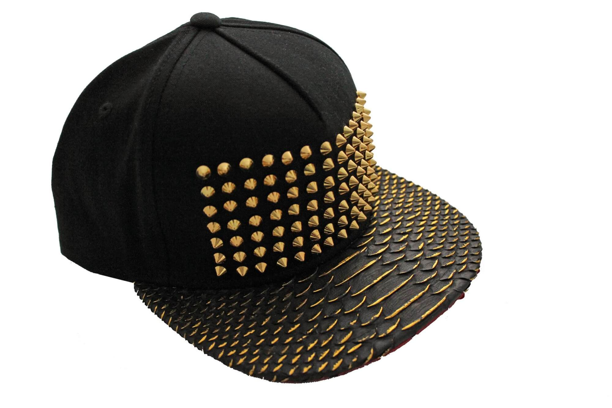 All Gold Everything Studded Strapback