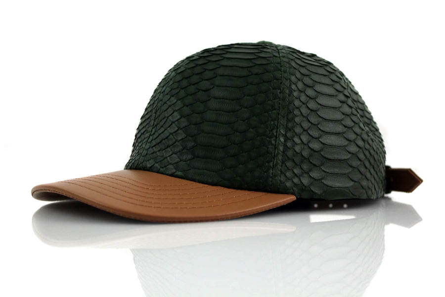 Military Green Python Low Profile Dad Hat