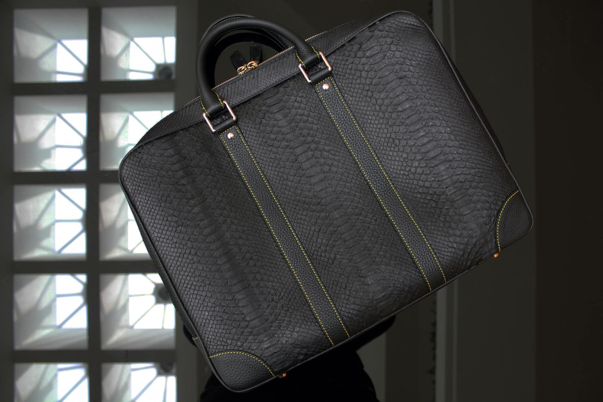 Gold Laptop Bag
