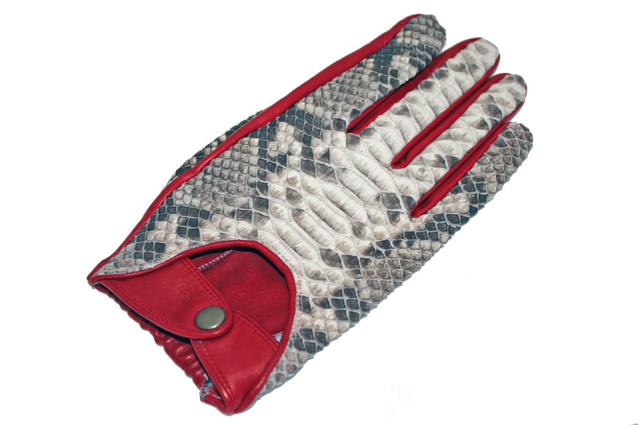 Natural Python Gloves