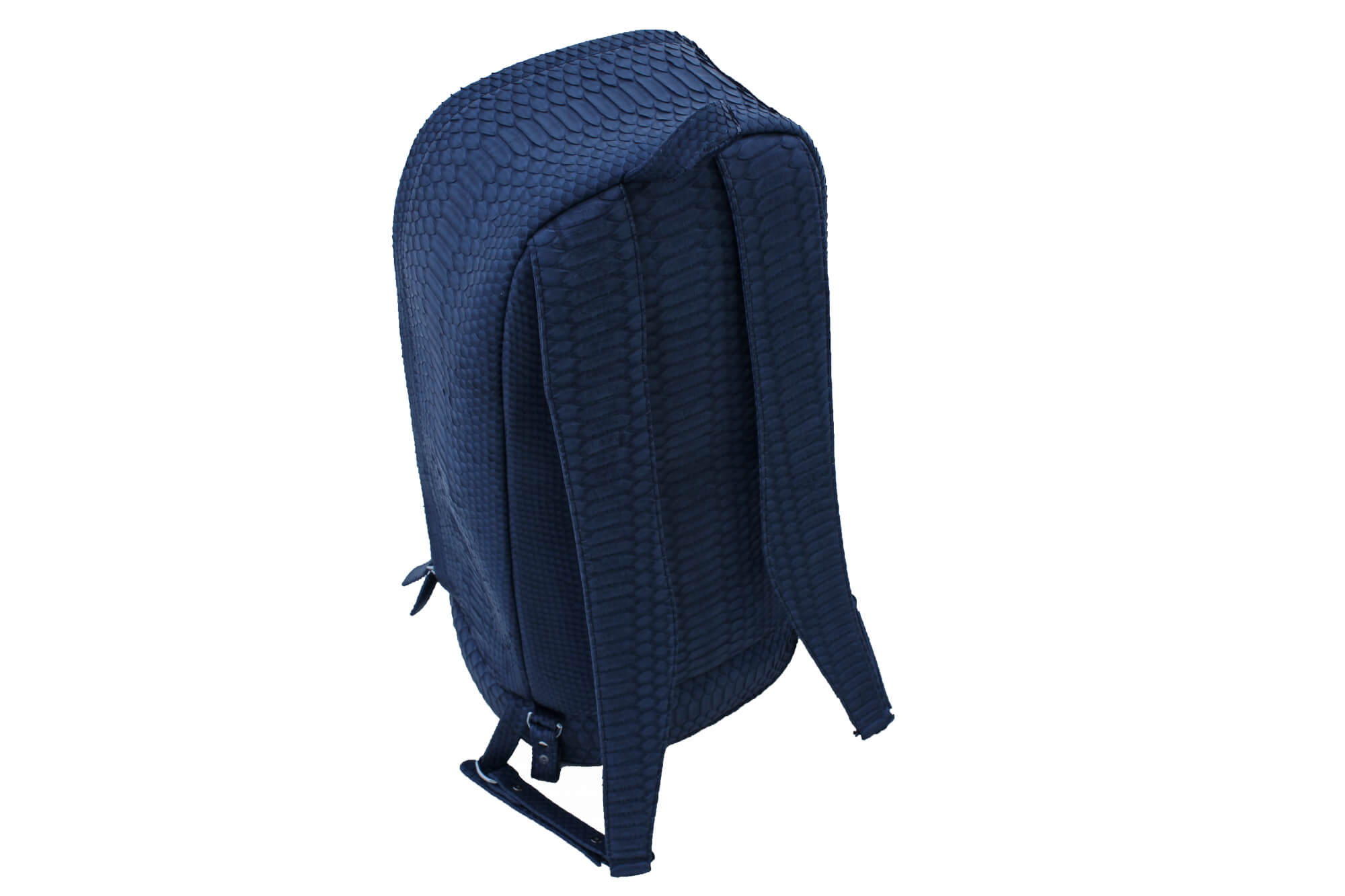 Custom Navy Python Backpack