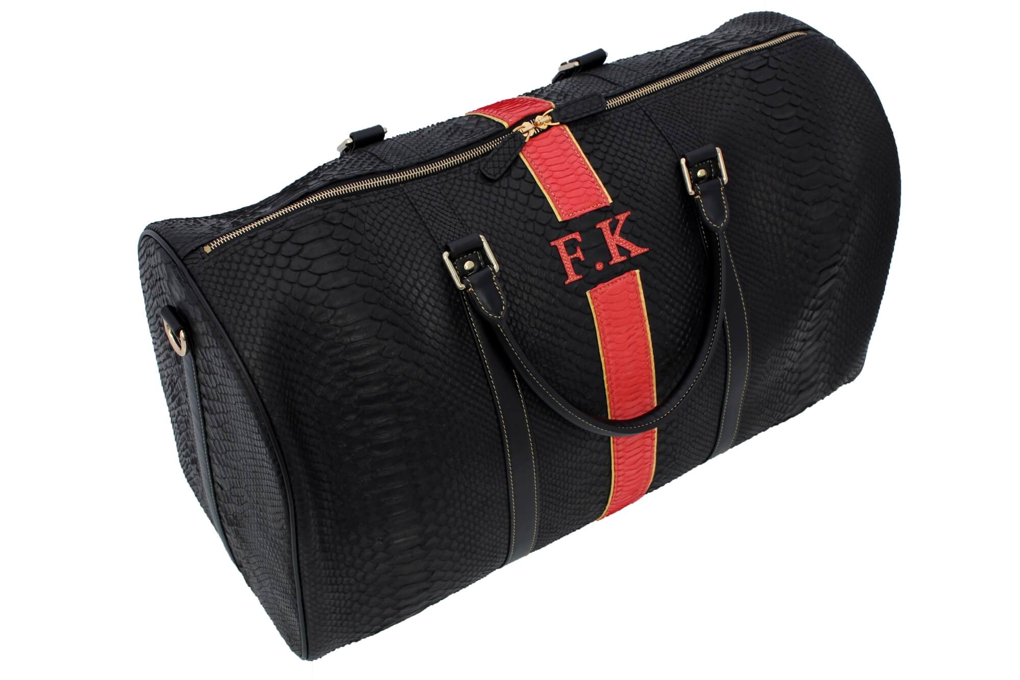 FK Initialed Duffle Bag