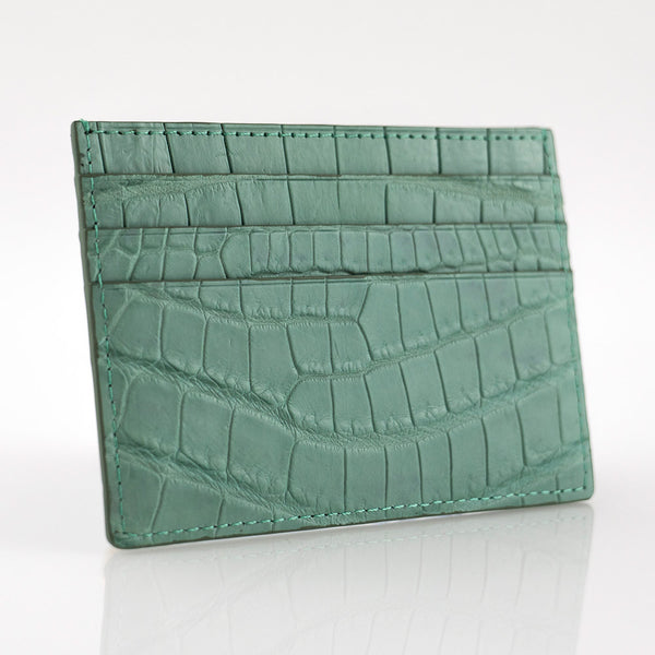 Tiffany Crocodile Skin Card Holder