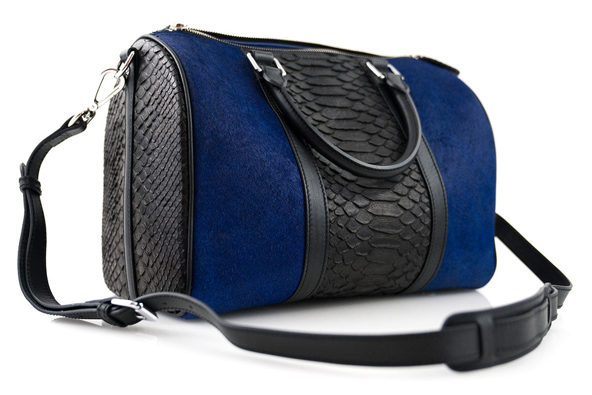 Mini Python SKin &  Pony Hair Duffle