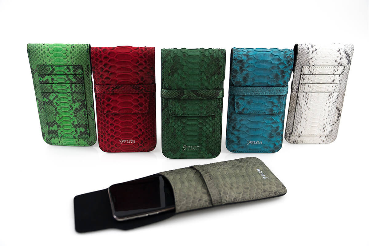 Personalized Python Skin iPhone Sleeves