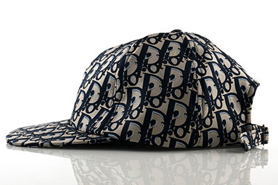 DIOR Oblique Silk Scarf Cut & Sew Hat