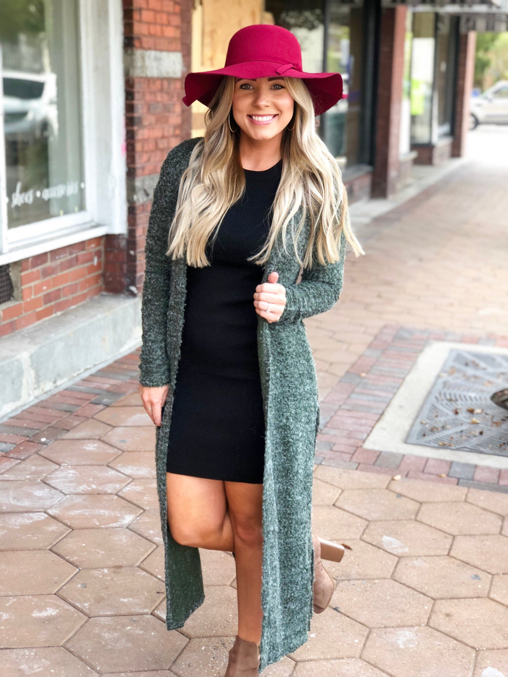 Fall Floppy Hat