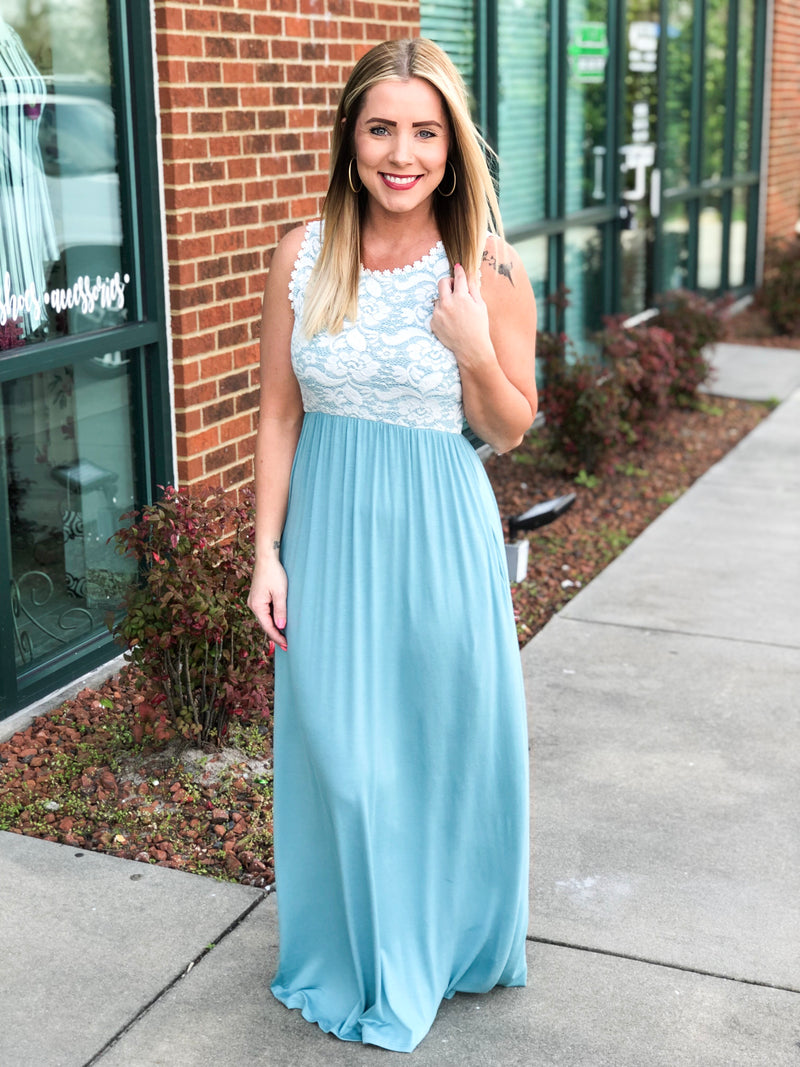 A Mid Summer Dream Maxi - Blue