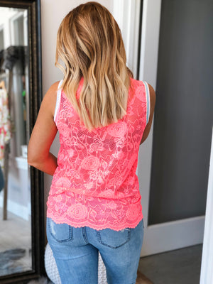 On The Edge Lace Top