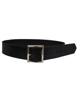 "ACS563-Leather 1 3/4"" Black Belt"
