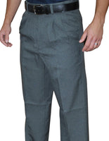 BBS374-Smitty Pleated Base Pants with Expander Waist Band - Available in Heather and Charcoal Grey