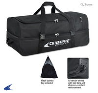 "E51 - CATCHER/UMPIRE EQUIPMENT BAG - 36"" X 16"" X 14"""