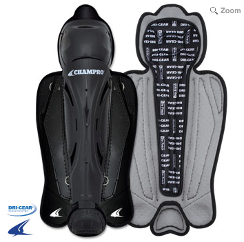 CG285-CG270-CG255 - HOCKEY STYLE UMPIRE LEG GUARDS