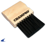 A040P - WOODEN UMPIRE BRUSH