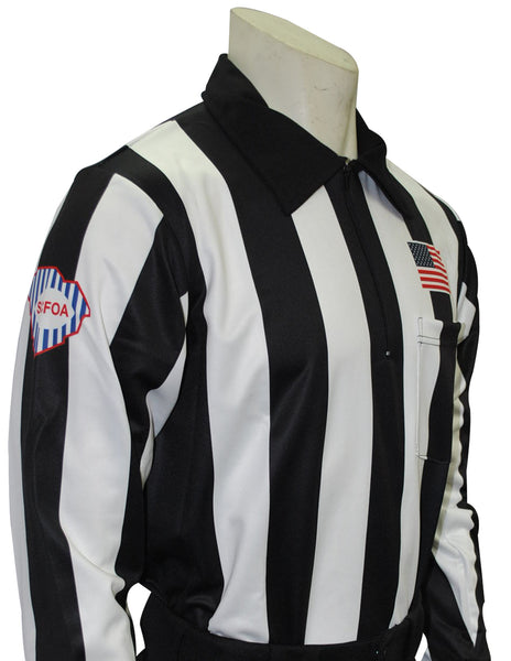 USA730SC- Dye Sub South Carolina Foul Weather Water Resistant Football Long Sleeve Shirt