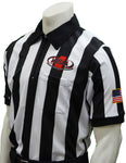 USA180MS- Smitty USA - Dye Sub Mississippi Football Short Sleeve Shirt