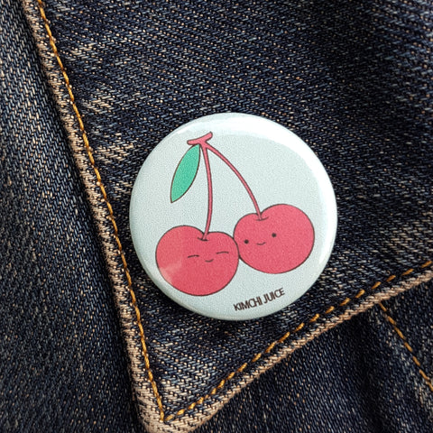 Cherry Love Pin