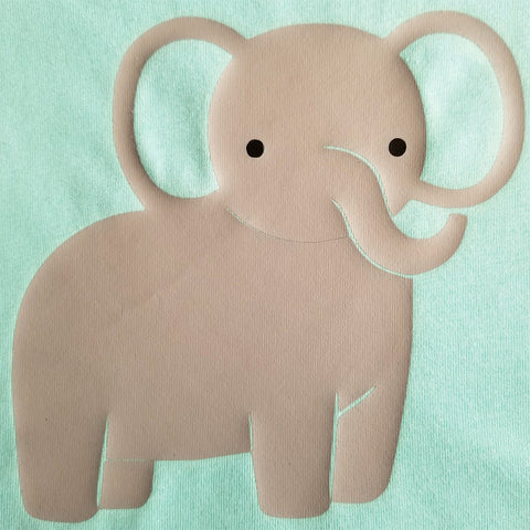 Elephant - Toddler - Short Sleeve, Crew Neck
