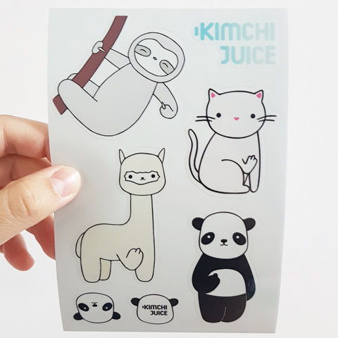 KJ Sticker Sheet