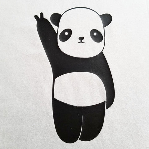 Victory Panda - Youth - Short Sleeve, Crew Neck