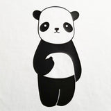 Panda Flipping the Bird - Unisex, Short Sleeve, Crew Neck