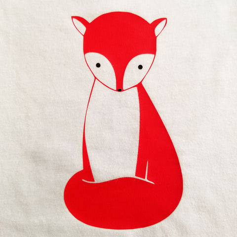 Fox - Toddler - Short Sleeve, Crew Neck