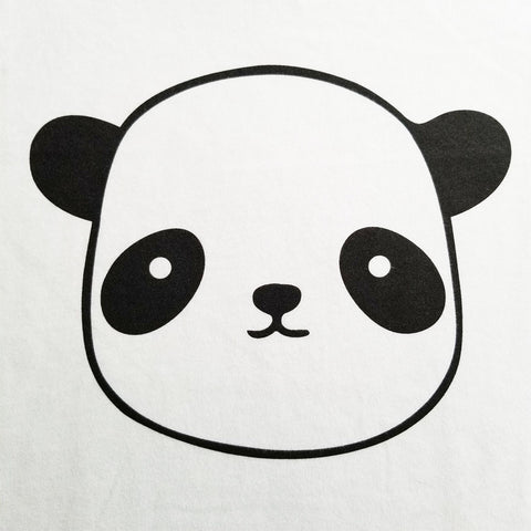 Panda Head - Youth - Short Sleeve, Crew Neck