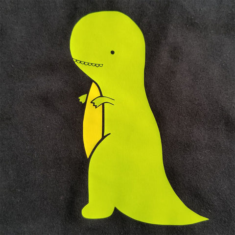 T-Rex - Toddler - Short Sleeve, Crew Neck