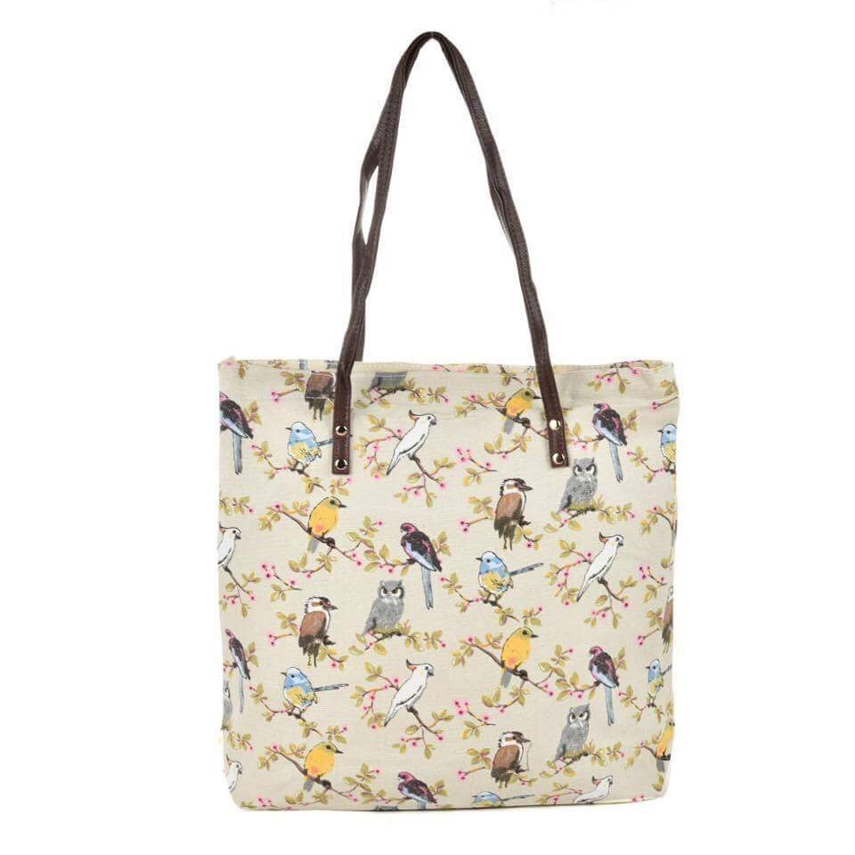 Owl Pattern Tote