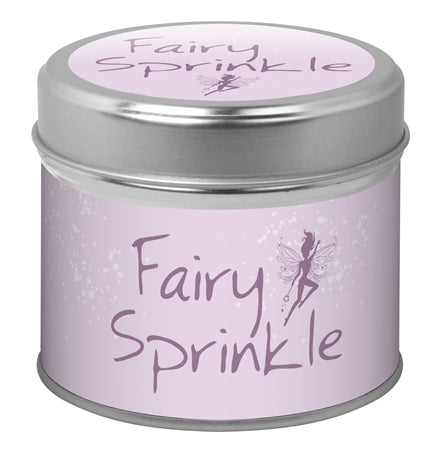 Fairy Sprinkle Candle In A Tin