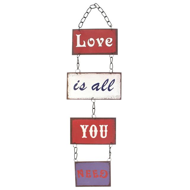 Love Is All You Need Plaque
