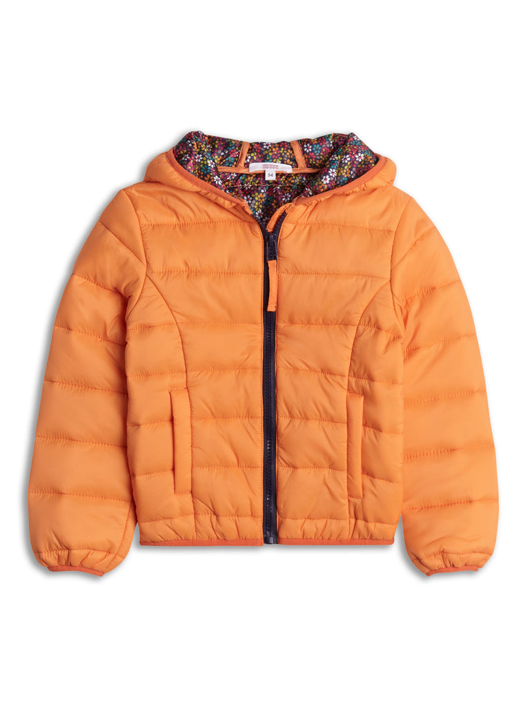 Orange Autumn Jacket 2-8 Years