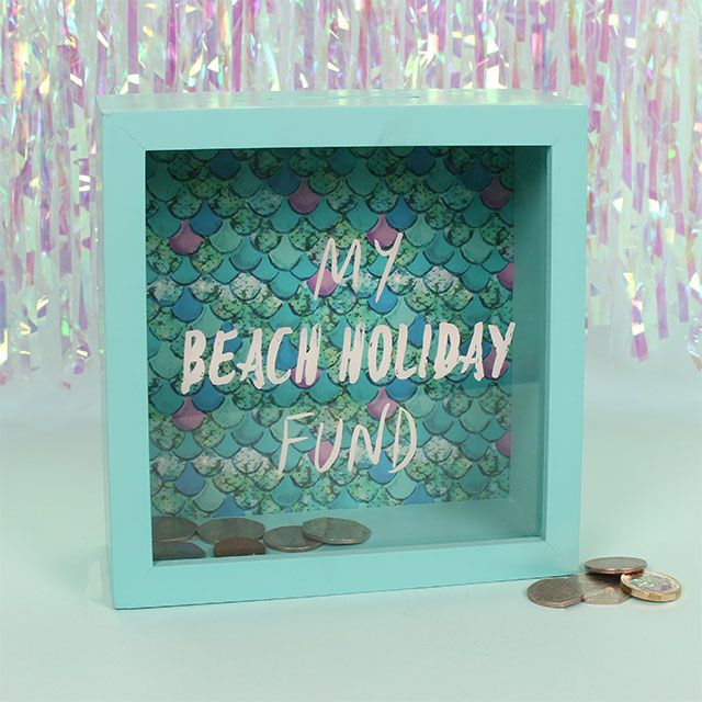 Beach Fund Money Box
