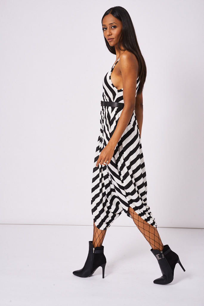 Andy Pandy Jumpsuit In Stripe