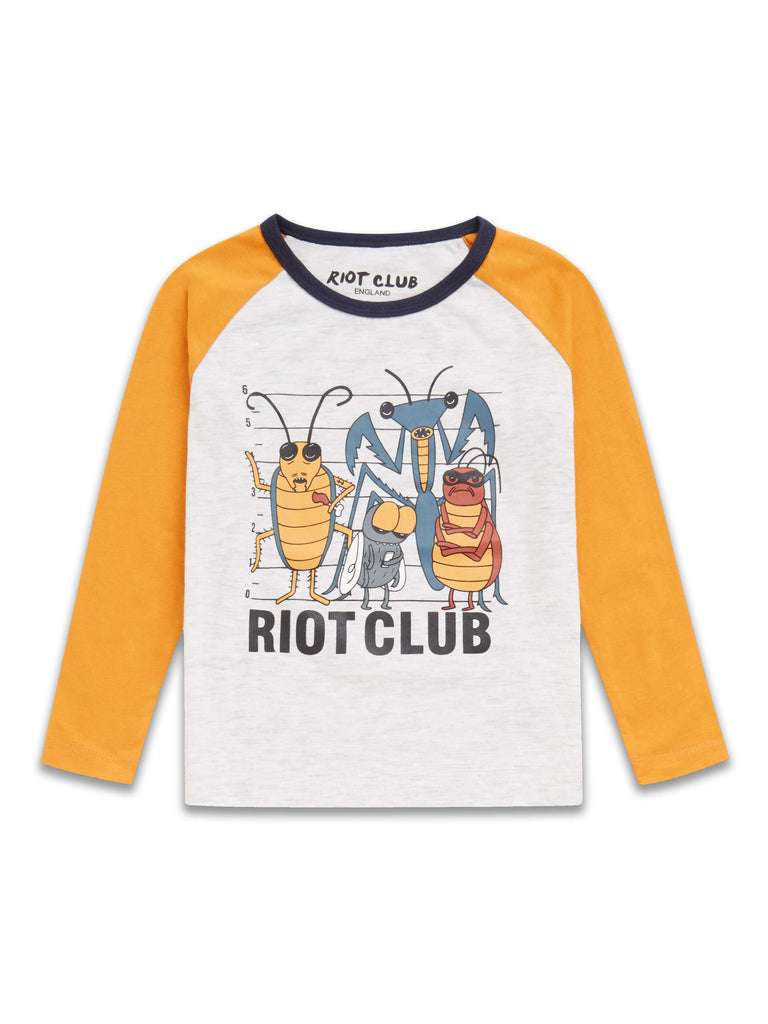 Bugs Long Sleeve Top 2-8 Years