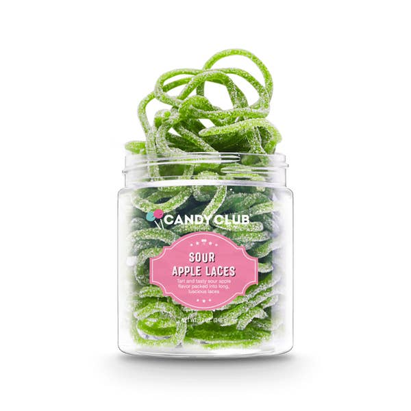 Candy Club Sour Apple Laces