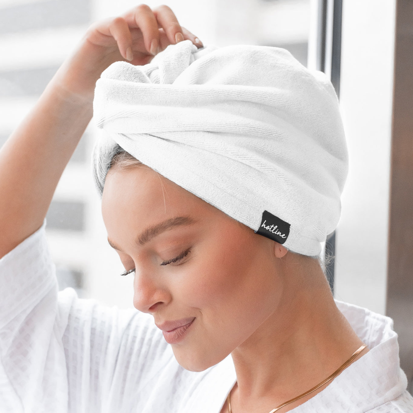 Towel Twist: White