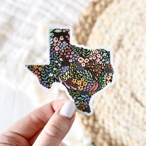 Texas State Floral Sticker