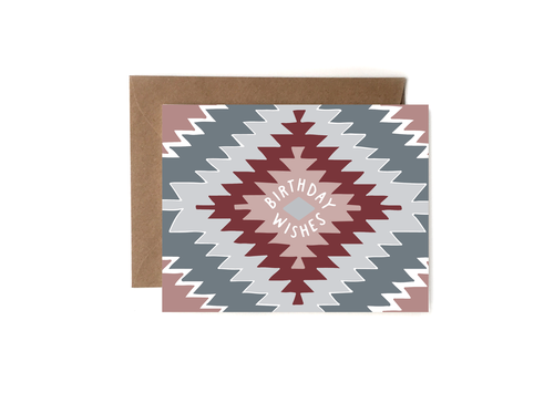 Aztec Birthday Wishes Card