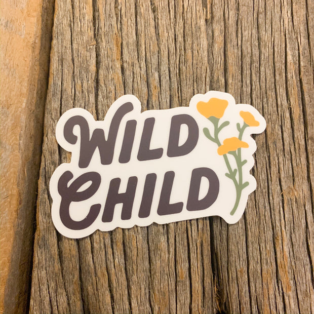 The Wild Child Sticker