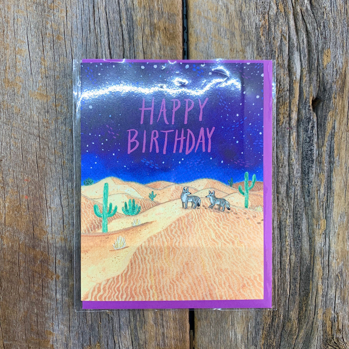 Roamer Happy Birthday Card