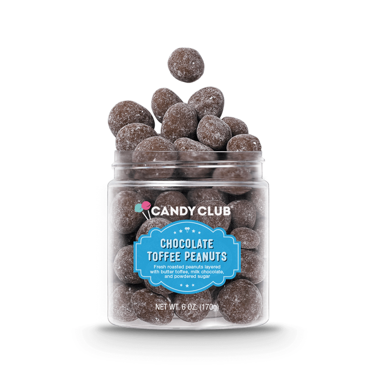 Candy Club Chocolate Toffee Peanuts